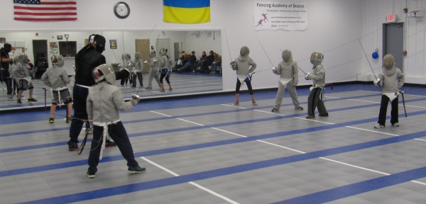 Youth Fencing Programs Fencing Academy Of Boston