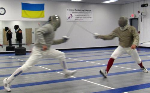 Saber Fencing